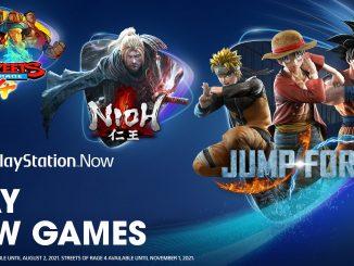 nuevos juegos ps now mayo